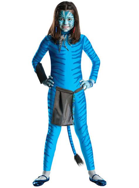 Fato de Neytiri de Avatar para menina