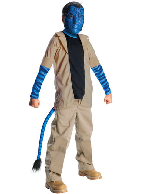 Maskeraddräkt Jake Sully Avatar för barn