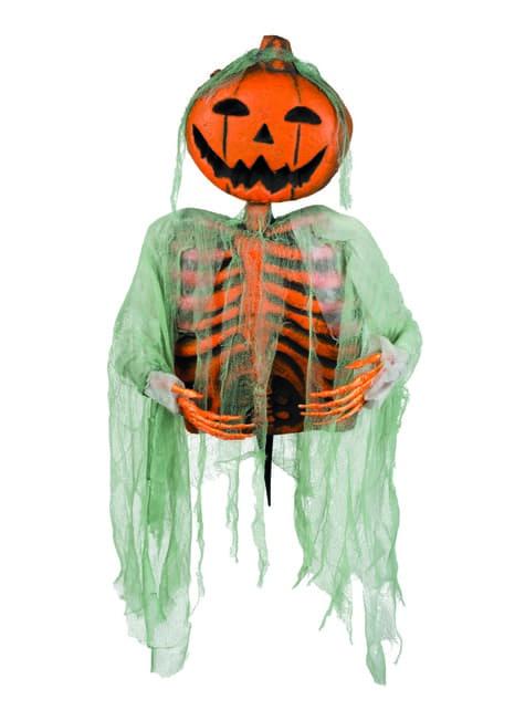 Figurină decorativă dovleac fantomă