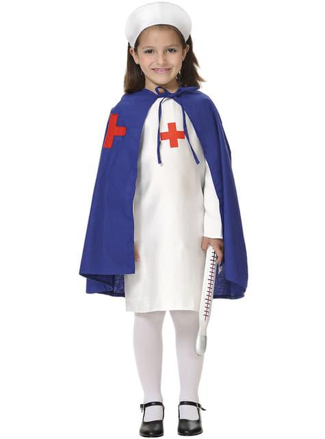 Fato de enfermeira para menina