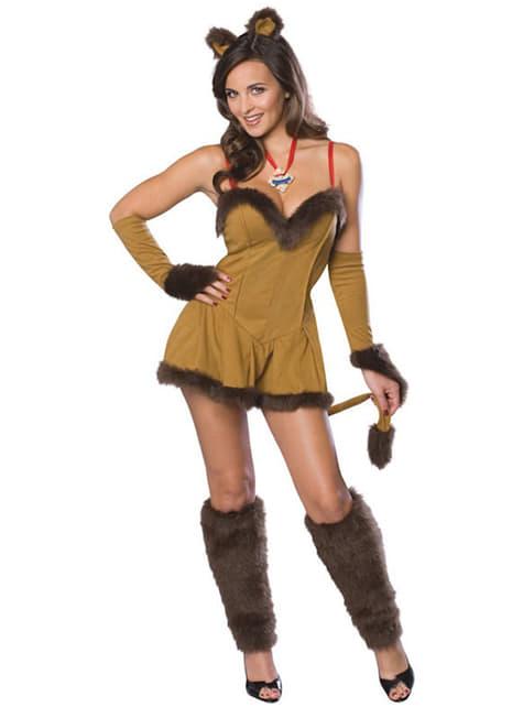 Costume Leone Il Mago di Oz da donna