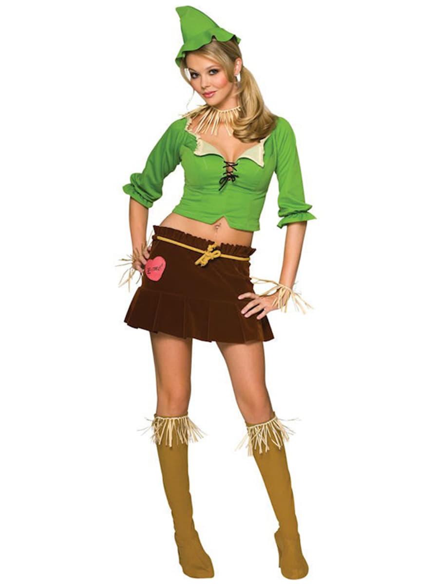 Scarecrow The Wizard of Oz Adult Costume (Female). Detalle Zoom  sc 1 st  Funidelia & Scarecrow The Wizard of Oz Adult Costume (Female). The coolest ...