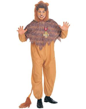 Kostým pro dospělé Zbabělý lev Čaroděj ze země Oz