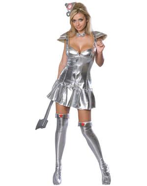 Blikmand kostume til kvinder