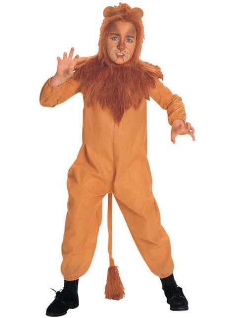 Dětský kostým Zbabělý lev Čaroděj ze země Oz