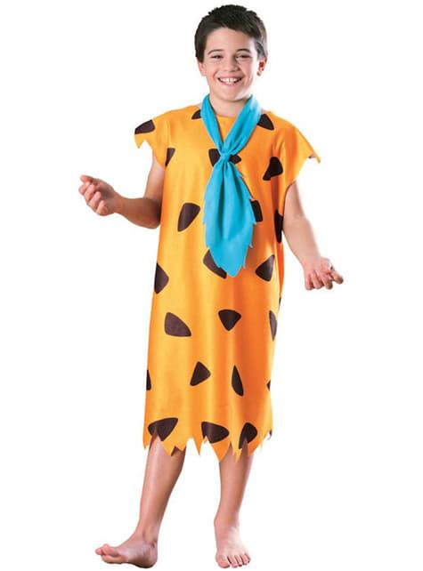 Fato de Fred Flintstone menino