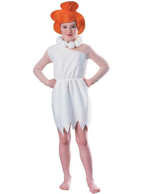 Fato de Wilma Flintstone para menina