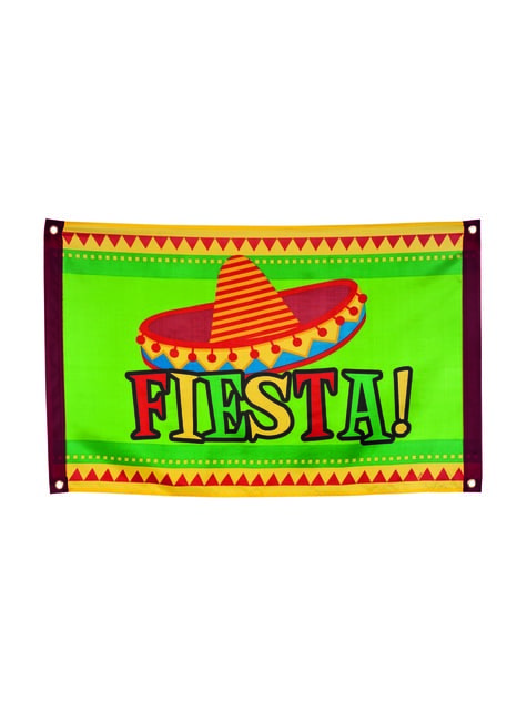 Banderole fête mexicaine