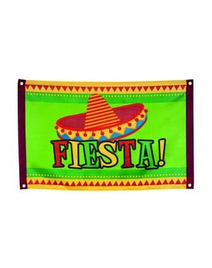Bandera Fiesta mexicana