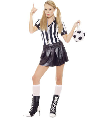 Sexy Schiedsrichterin Kostüm Fußball