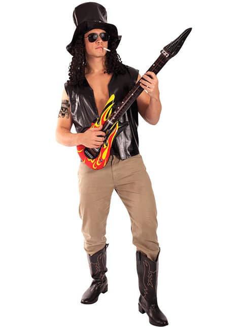 Slash fra Guns N Roses Kostyme