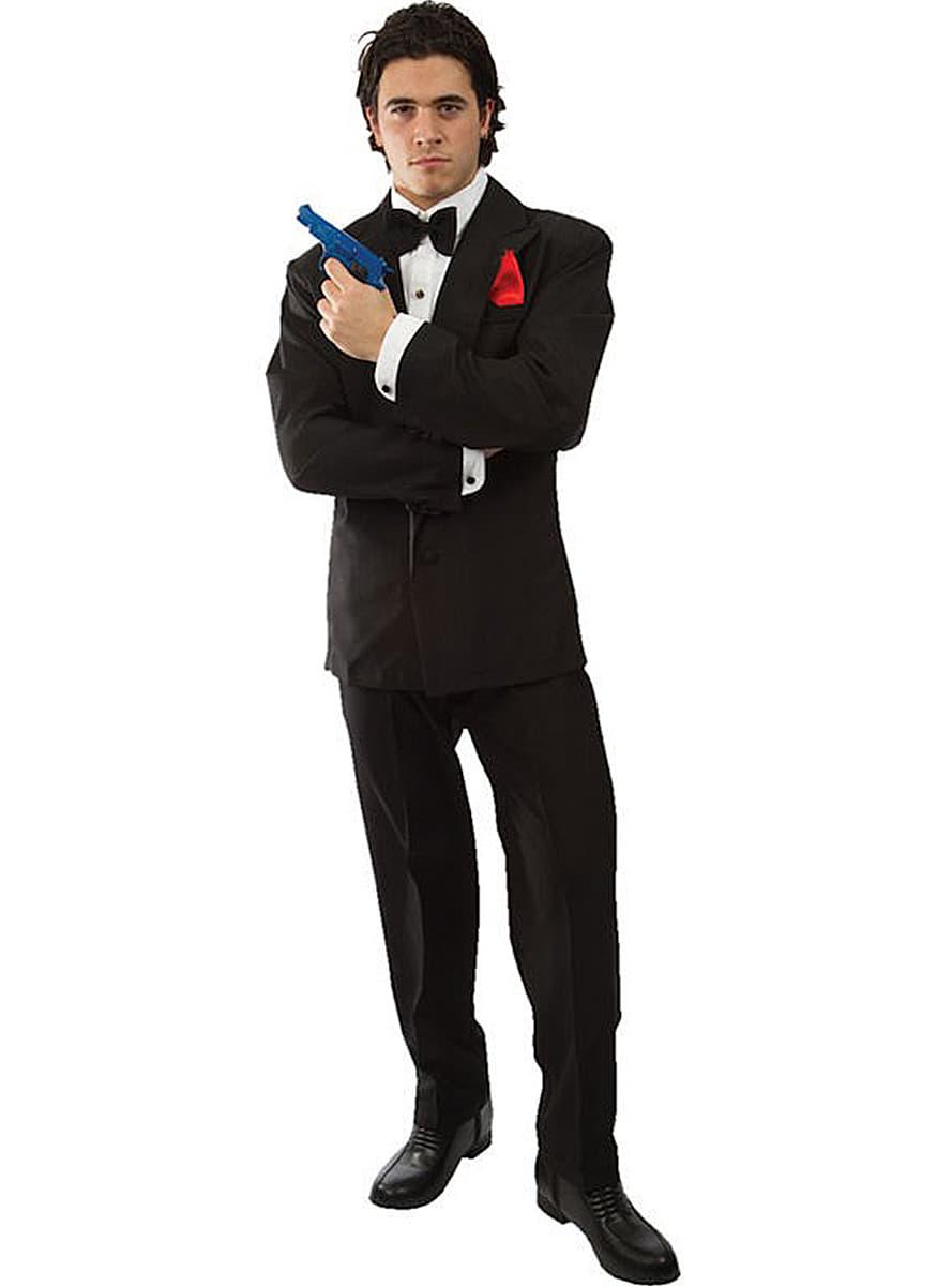 Costume de james bond 007 funidelia - James bond costume ...