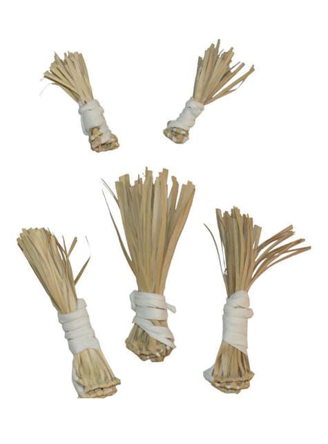 Kit de bocados de palha
