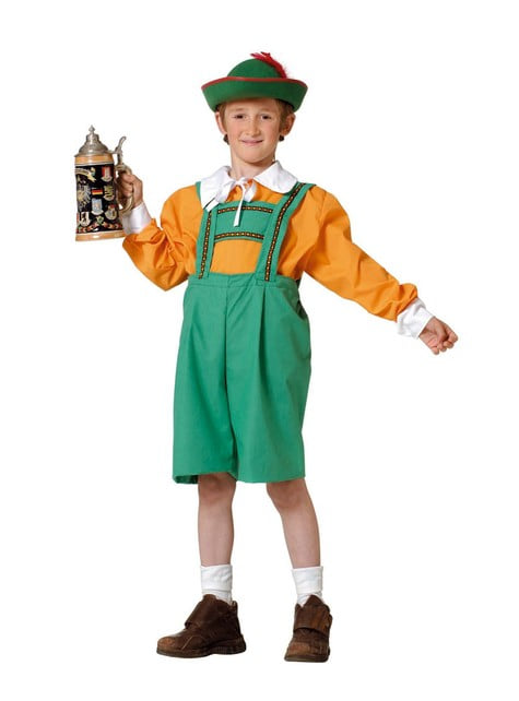 Tyrolean Kids Costume