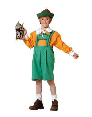 Disfraz de tirolés niño