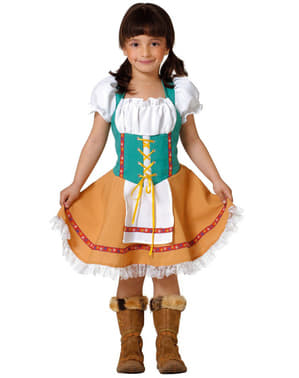 Mädchenkostüm Tirolerin