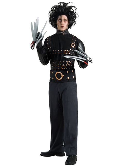 Edward Saksehand Kostyme Voksen