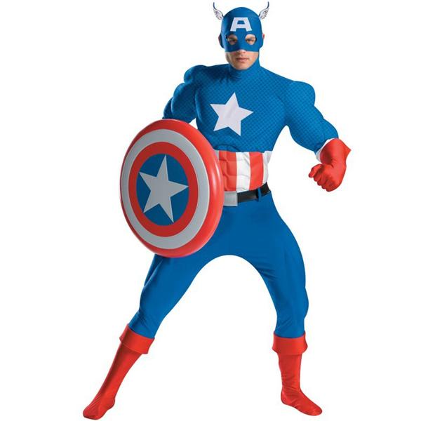 Capitan América en dibujos animados - Imagui