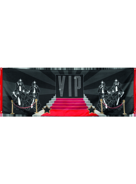 Bandeira para festa VIP - Elegant Collection - para as tuas festas