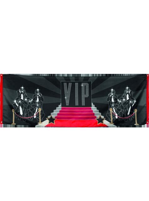 Bandera para fiesta VIP - Elegant Collection - para tus fiestas
