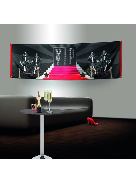 Bandeira para festa VIP - Elegant Collection - barato