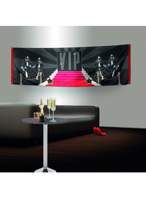 Bandera para fiesta VIP - Elegant Collection - barato