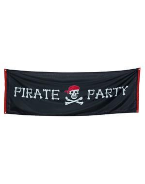Banner na piracką imprezę