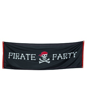 Piraten feest poster