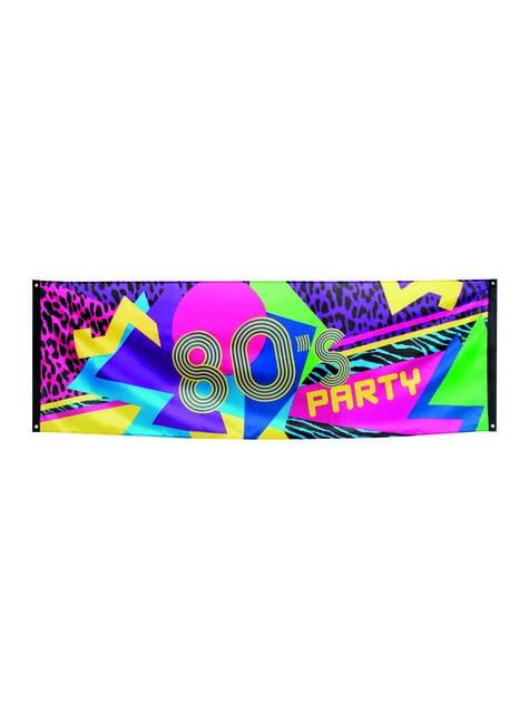80's feest poster