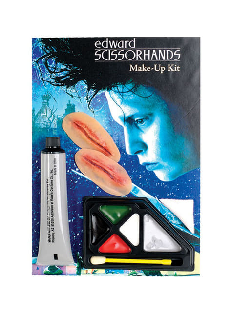 Edward Scissorhands Makeup