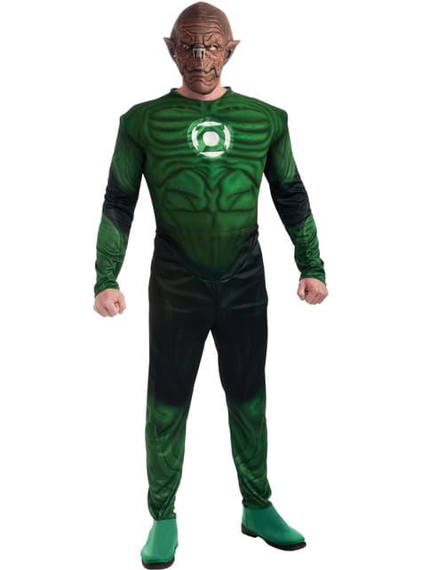 Disfraz de Kilowog Deluxe Linterna Verde