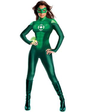 Зелена фенер Жена Възрастен костюм