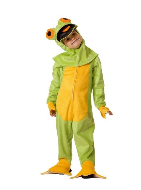 Frog Child Costume