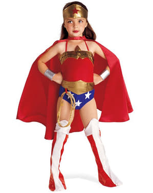Costum Wonder Woman fată