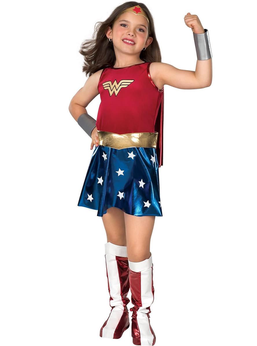 Kostium wonder woman classic dla dziewczynki najbardziej