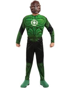 Disfraz de Kilowog musculoso Linterna Verde niño