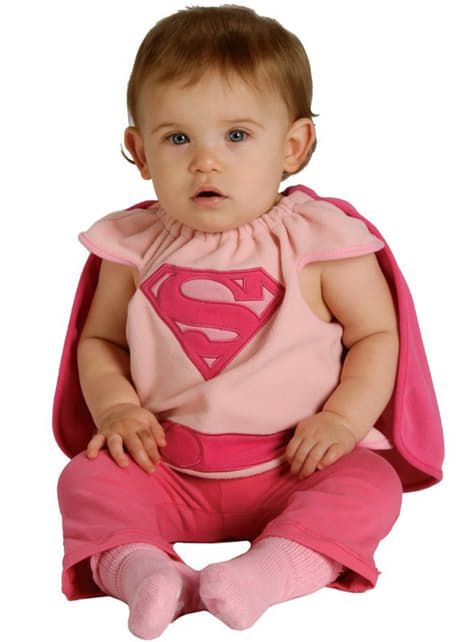 Supergirl kostuum voor baby