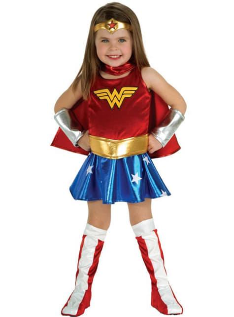 Disfraz de Wonder Woman Deluxe niña