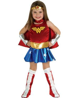 Mädchenkostüm Wonder Woman Deluxe