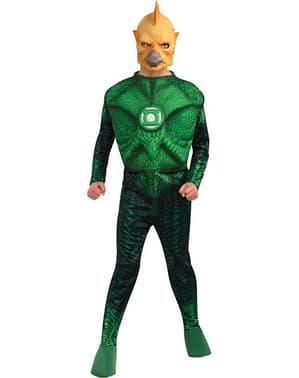 Disfraz de Tomar-Re musculoso Linterna Verde niño