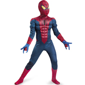 Disfraz de Amazing Spiderman Movie Classic musculoso niño