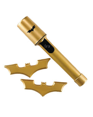 Batman lygte og batarangs