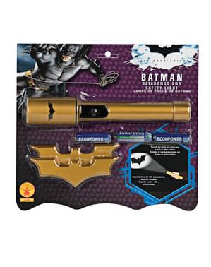 Batman Zaklamp en Batarangs