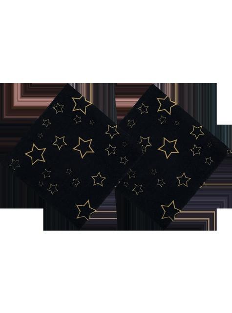 12 servilletas para fiesta VIP (25 cm) - Elegant Collection