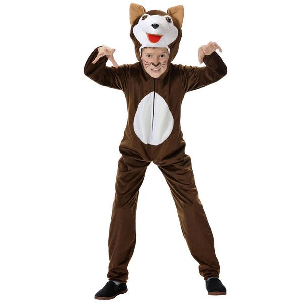 Como hacer un disfraz de lobo feroz para niños - Imagui