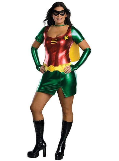 Szexi Robin Super Heroine Felnőtt ruha