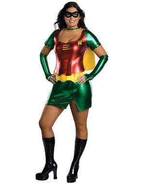 Sexy Superheldin Robin kostuum