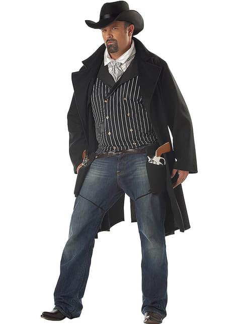 Disfraz de pistolero deluxe - hombre