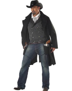 Kostium uzbrojony bandyta