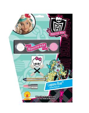 Monster High laguuninsininen meikki
